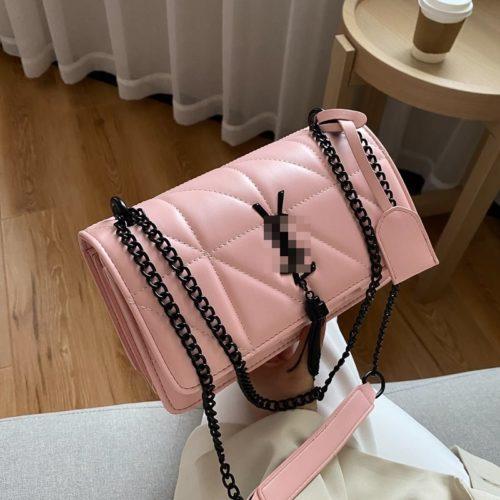 JT34463-pink Tas Selempang Wanita Cantik Import Keren