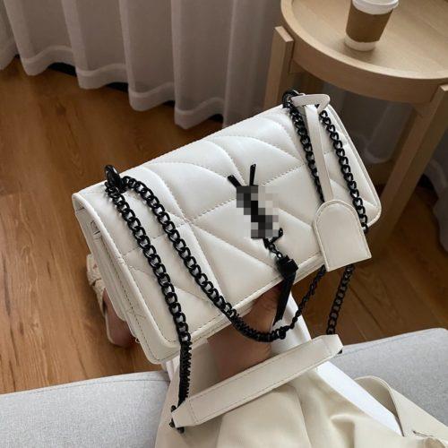 JT34463-white Tas Selempang Wanita Cantik Import Keren
