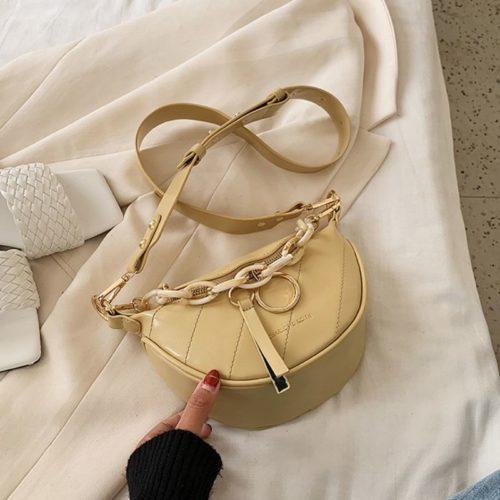 JT34510-yellow Tas Sling Waist Bag Wanita Cantik Import