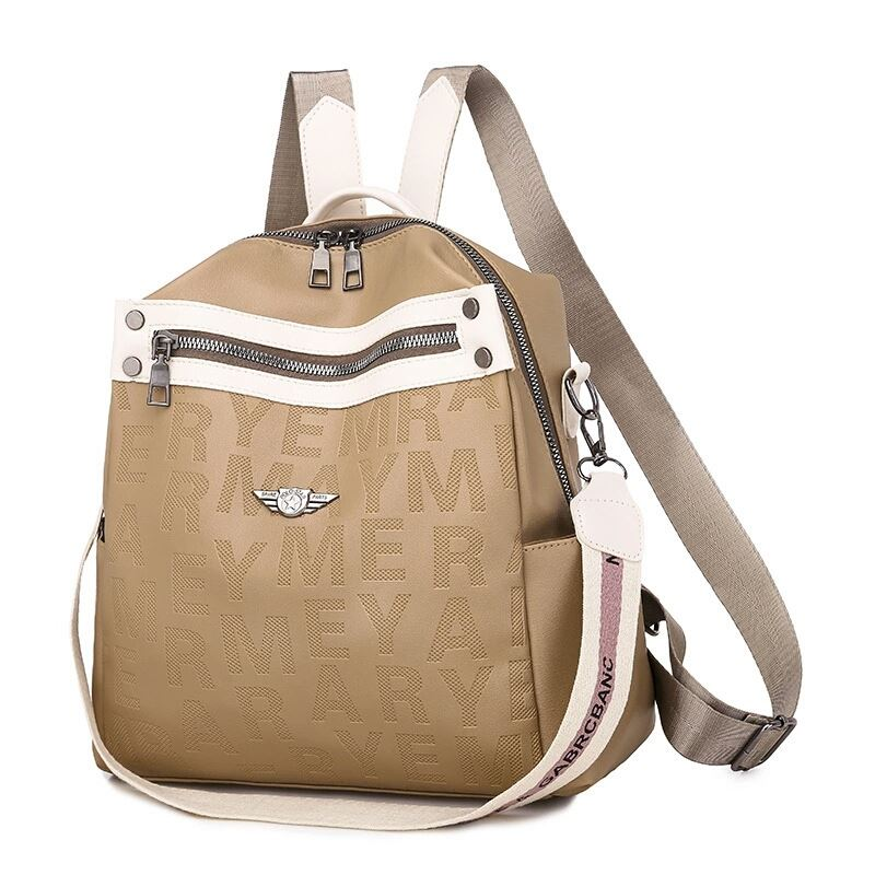 JT34539 IDR.152.000 MATERIAL PU SIZE L29XH28XW13CM WEIGHT 450GR COLOR KHAKI