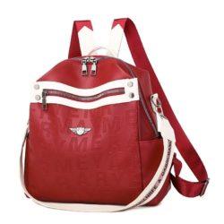 JT34539-red Tas Ransel Fashion Modis Wanita Terbaru