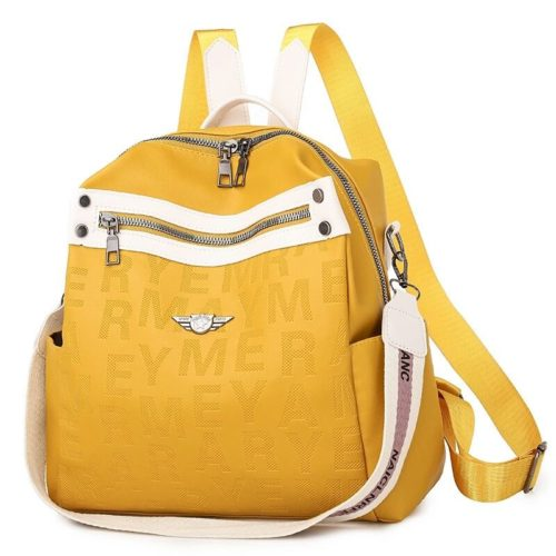 JT34539-yellow Tas Ransel Fashion Modis Wanita Terbaru