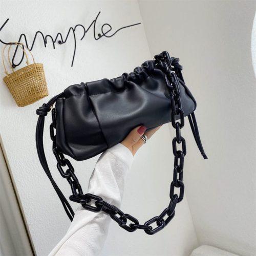 JT369178-black Tas Selempang Fashion Import Wanita Cantik
