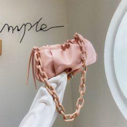 JT369178-pink Tas Selempang Fashion Import Wanita Cantik