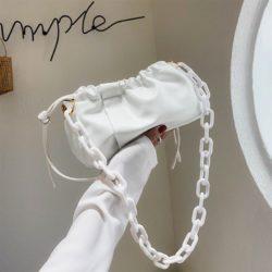 JT369178-white Tas Selempang Fashion Import Wanita Cantik