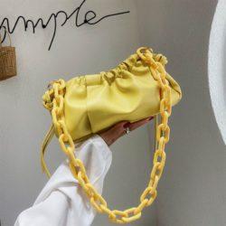 JT369178-yellow Tas Selempang Fashion Import Wanita Cantik