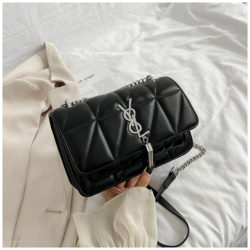 JT3750-black Tas Selempang Cantik Wanita Elegan Import