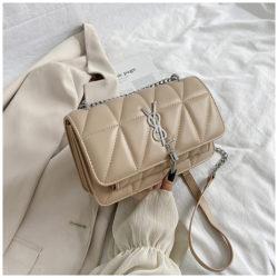 JT3750-khaki Tas Selempang Cantik Wanita Elegan Import