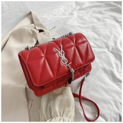 JT3750-red Tas Selempang Cantik Wanita Elegan Import