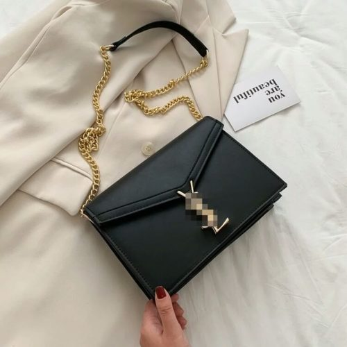 JT3751-black Tas Selempang Wanita Elegan Import Terbaru