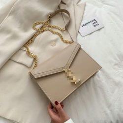 JT3751-khaki Tas Selempang Wanita Elegan Import Terbaru