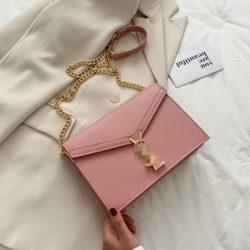 JT3751-pink Tas Selempang Wanita Elegan Import Terbaru