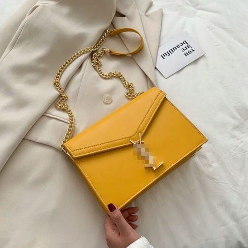 JT3751-yellow Tas Selempang Wanita Elegan Import Terbaru