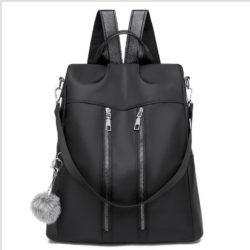 JT37700-black Tas Ransel Stylish Wanita Kekinian Import
