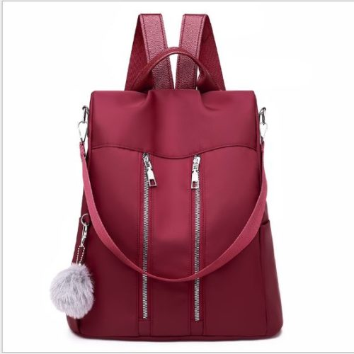 JT37700-red Tas Ransel Stylish Wanita Kekinian Import