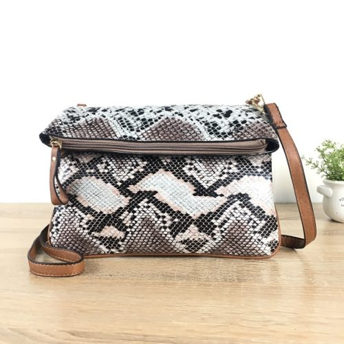JT3851 IDR 125.000 MATERIAL PU SIZE L 23XH17XW3CM WEIGHT 500GR COLOR LEOPARD