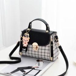 JT387-black Tas Selempang Handbag Cantik Import