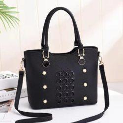 JT3912-black Tas Selempang Elegan Wanita Cantik Import