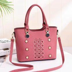 JT3912-pink Tas Selempang Elegan Wanita Cantik Import