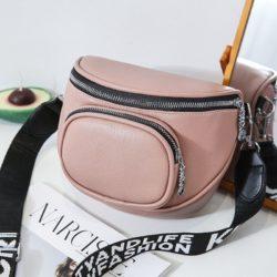 JT3991-pink Tas Selempang Stylish Mini Wanita Cantik