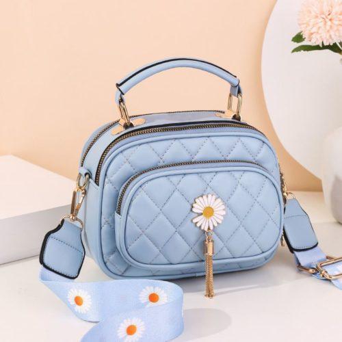 JT4003-blue Tas Handbag Selempang Wanita Cantik Import
