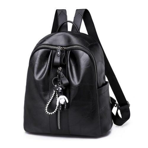JT4215-black Tas Ransel Fashion Wanita Terbaru Import