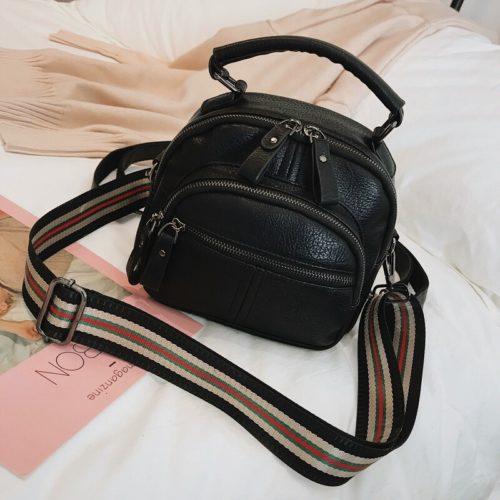 JT42541-black Tas Ransel Selempang Fashion Modis Wanita Cantik