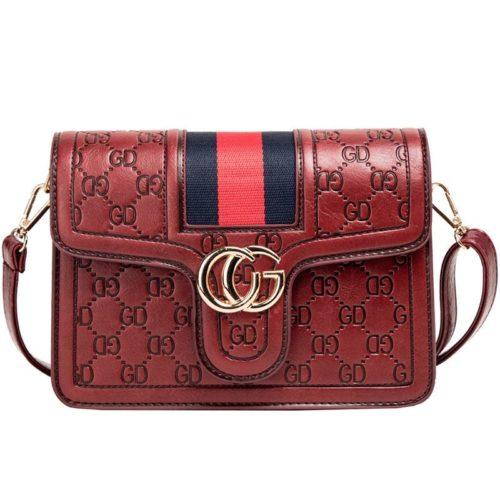 JT45036-red Tas Slingbag Elegan Import Terbaru