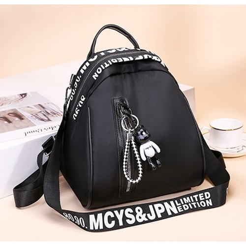 JT4513 IDR.152.000 MATERIAL NYLON SIZE L26XH23XW18CM WEIGHT 500GR COLOR BLACK
