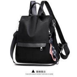 JT4519-black Tas Punggung Terbaru Import Wanita
