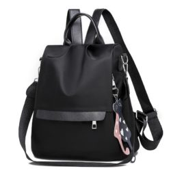 JT4519 IDR.155.000 MATERIAL NYLON SIZE L30XH29XW14CM WEIGHT 430GR COLOR BLACK