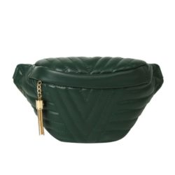 JT4542-green Waist Bag Fashion Import Elegan Wanita