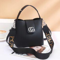 JT45770-black Tas Handbag Selempang Wanita Elegan Import