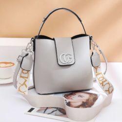 JT45770-gray Tas Handbag Selempang Wanita Elegan Import
