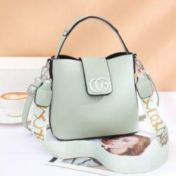 JT45770-green Tas Handbag Selempang Wanita Elegan Import
