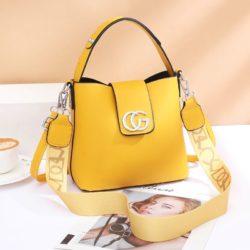 JT45770-yellow Tas Handbag Selempang Wanita Elegan Import