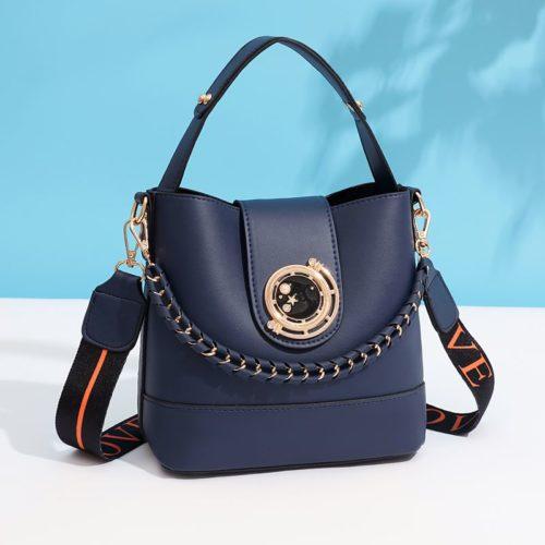 JT45990-blue Tas Selempang Wanita Elegan Import Terbaru