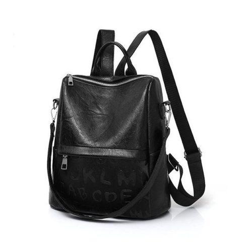 JT464011-black Tas Ransel Stylish Kekinian Import