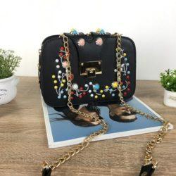 JT48050-black Tas Clutch Selempang Wanita Cantik Import