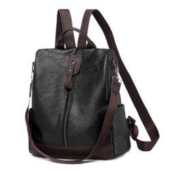 JT495-black Tas Ransel Fashion Import Wanita Cantik