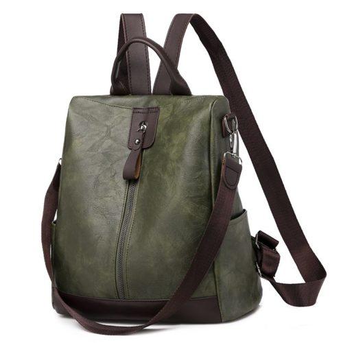 JT495-green Tas Ransel Fashion Import Wanita Cantik
