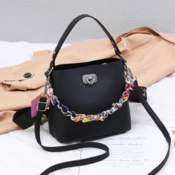 JT49880-black Tas Selempang Wanita Cantik Fashion Import Terbaru