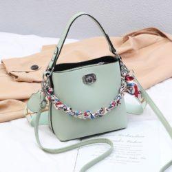 JT49880-green Tas Selempang Wanita Cantik Fashion Import Terbaru
