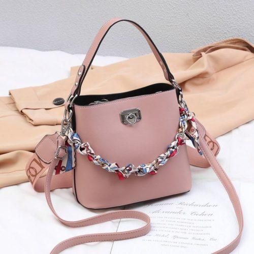 JT49880-pink Tas Selempang Wanita Cantik Fashion Import Terbaru