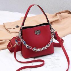 JT49880-red Tas Selempang Wanita Cantik Fashion Import Terbaru