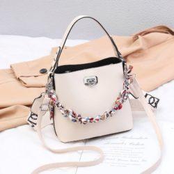 JT49880-white Tas Selempang Wanita Cantik Fashion Import Terbaru