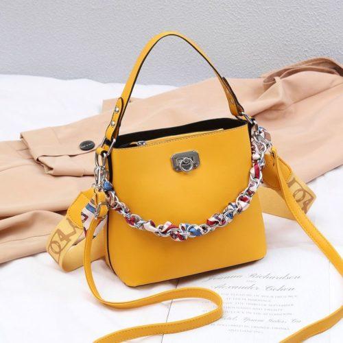 JT49880-yellow Tas Selempang Wanita Cantik Fashion Import Terbaru