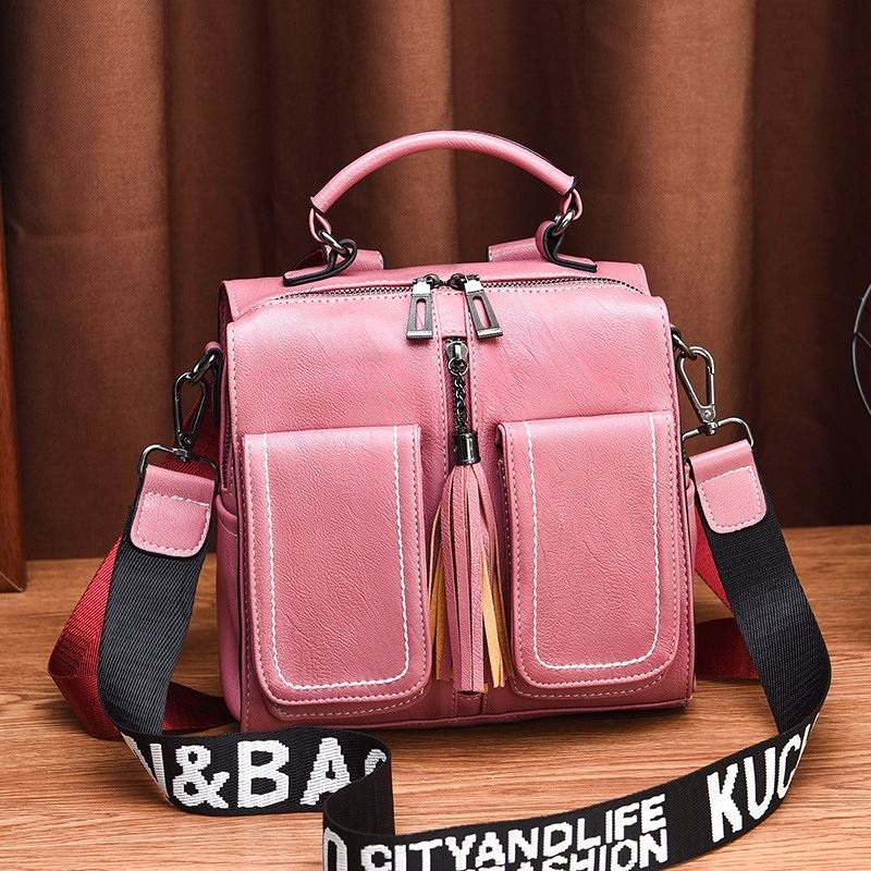 JT502 IDR.175.000 MATERIAL PU SIZE L23XH22XW13CM WEIGHT 800GR COLOR PINK