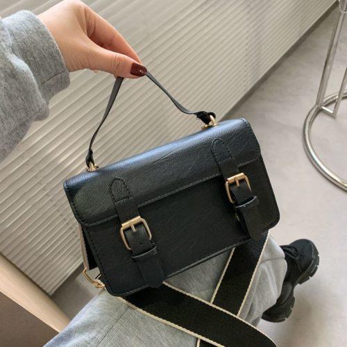 JT513-black Tas Handbag Selempang Stylish Import Wanita Cantik