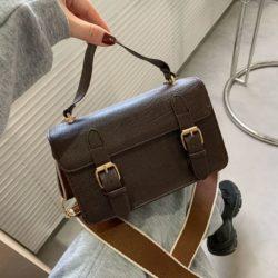 JT513-brown Tas Handbag Selempang Stylish Import Wanita Cantik
